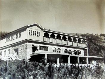 Мотел Сење - некада