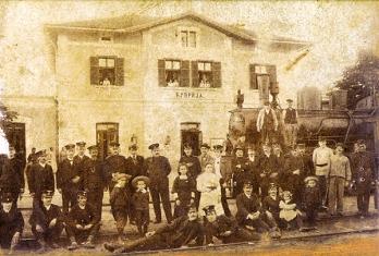 Зграда железничке станице 1884-1944