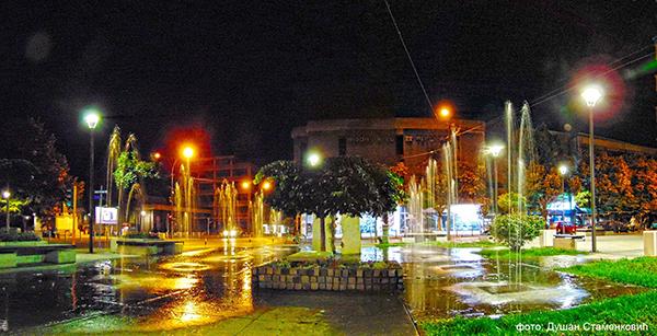 Cuprija gradska fontana