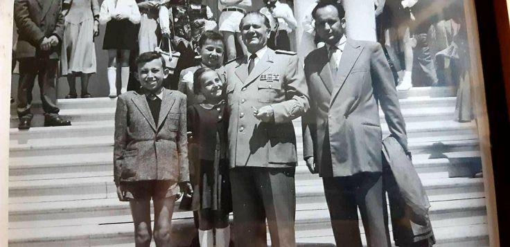 Djaci skole Vuk Karadzic 1955