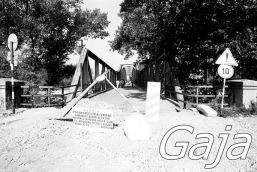 drumski most rekonstrukcija 1986 Gaja