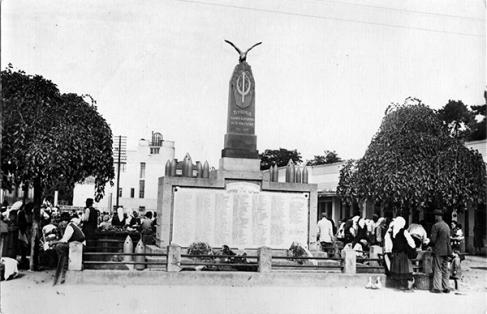 Ћуприја, споменик настрадалима у Великом рату