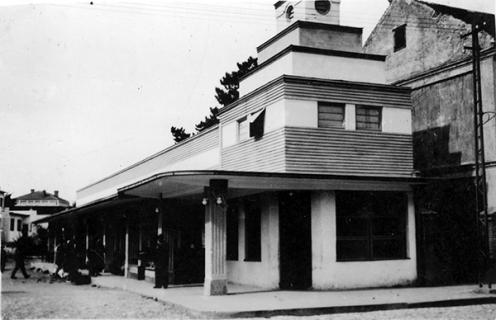Ћуприја - 1964. Пијачна управа у центру града