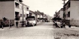Glavna ulica pre rekonstrukcije 1977