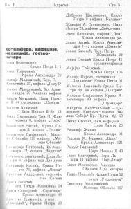 Kafane spisak 1937
