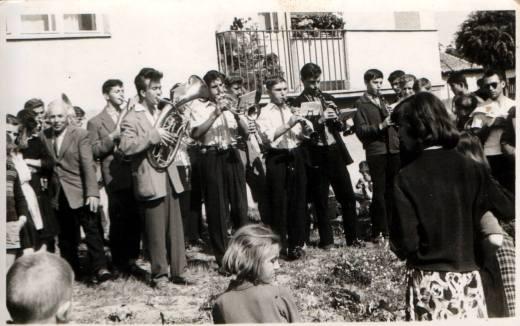 1959 - Полагање камена темељца за музичку школу