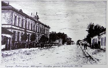 Изградња школе је започета 1889. године, а ђаци су кренули 1890. године