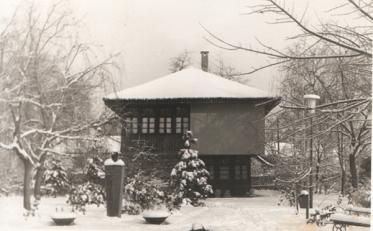 stara zgrada muzeja zima
