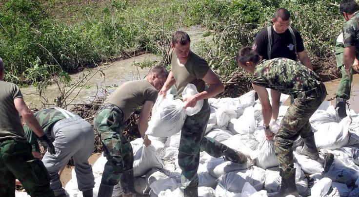 vojska-srbije poplava