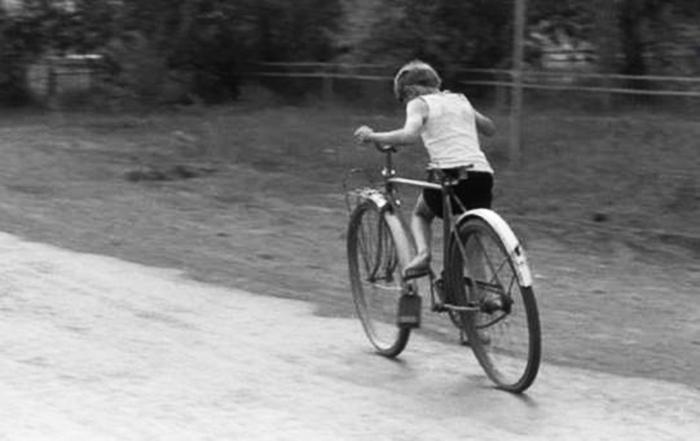 1 biciklista