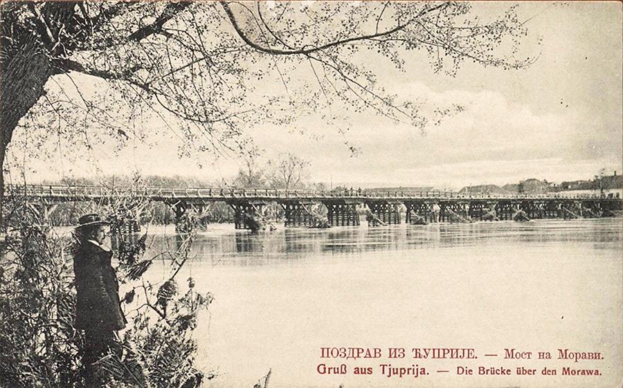 Drveni most na Moravi