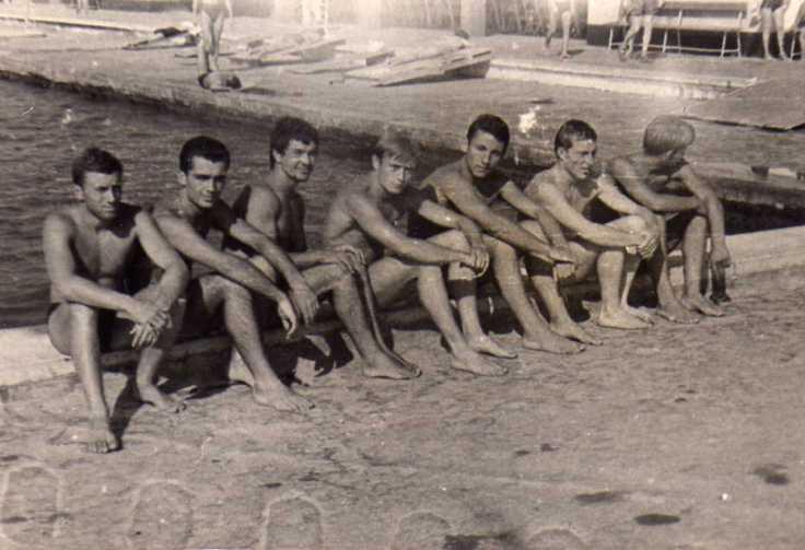plivalište Splitskog Jadrana..na putu za Korčulu..1958. godina
