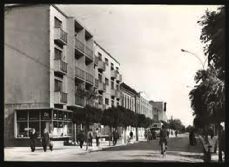 Glavna ulica nekada 1962