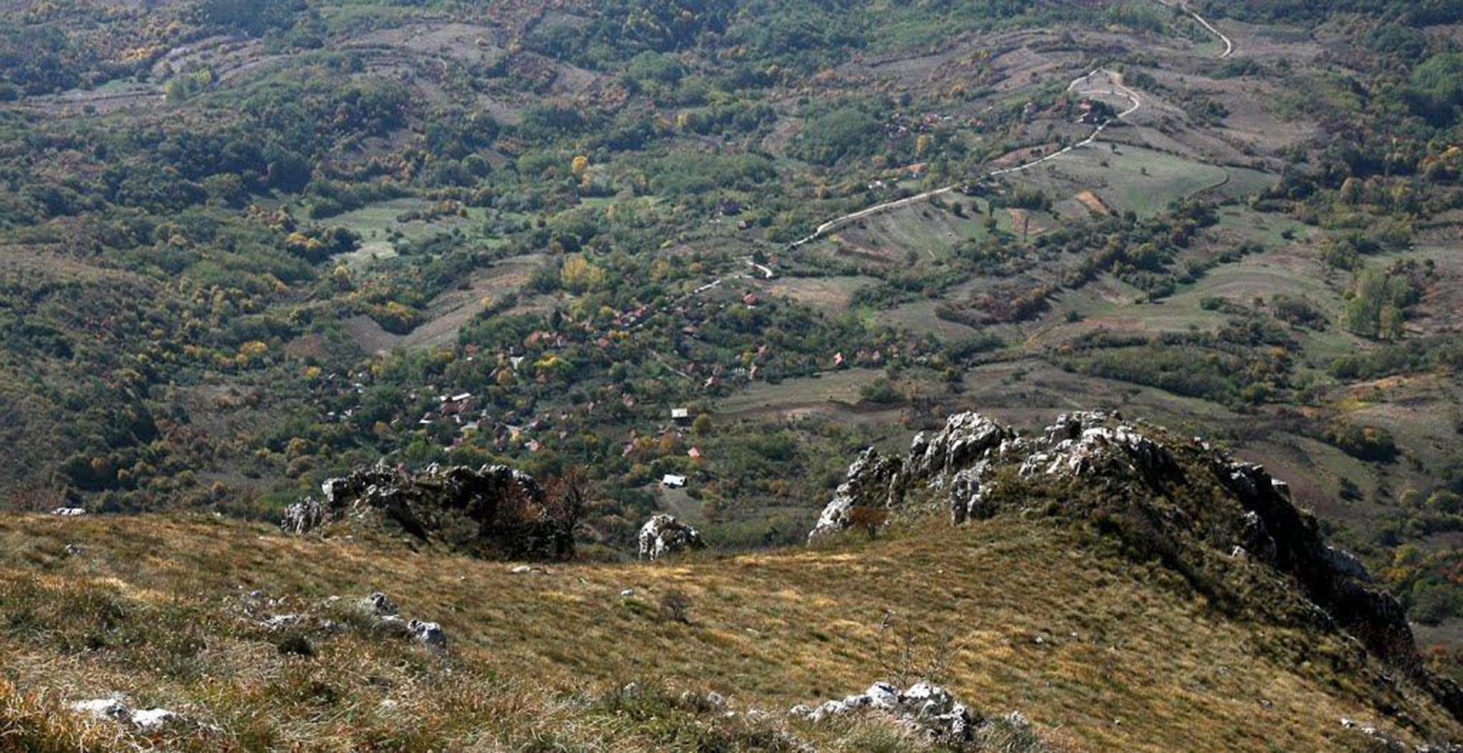 Celije panorama sa visine