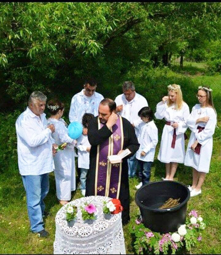 Krstenje na Vezirovcu