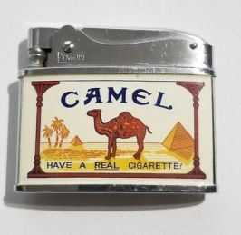 vintage-camel-cigarettes-2-sided-lighter-penguin-brand-have-a-real-cigarette