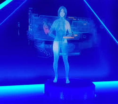 hologram slika