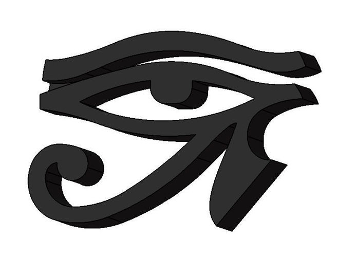 horus-eye-3d-model-stl-stp
