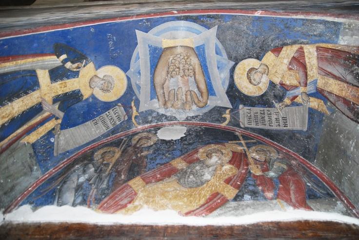 Manasija freska