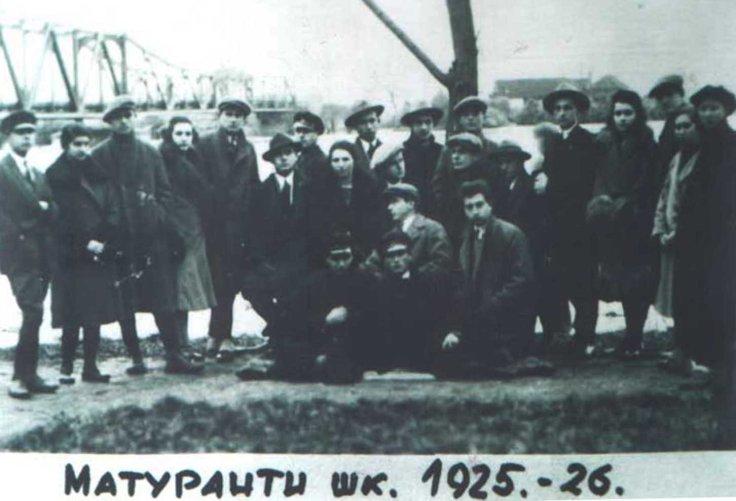 Maturanti 1925-26 - kopija