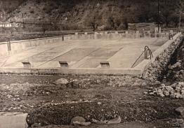 Sisevac bazen u izgradnji