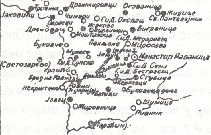 Mostanica i ostala sela