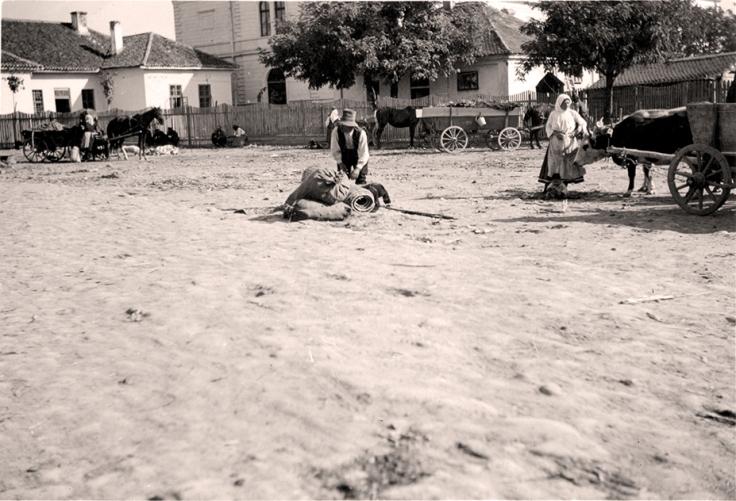 Cuprija 1922 pijaca