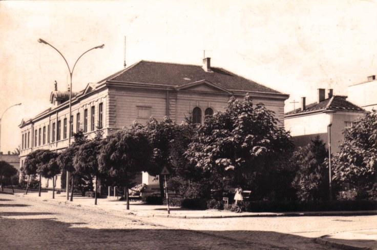 Cuprija skolska zgrada 1970