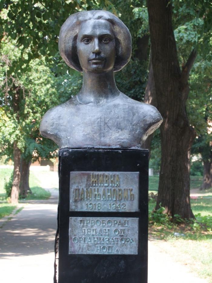 Zivka Damnjanovic park nekada