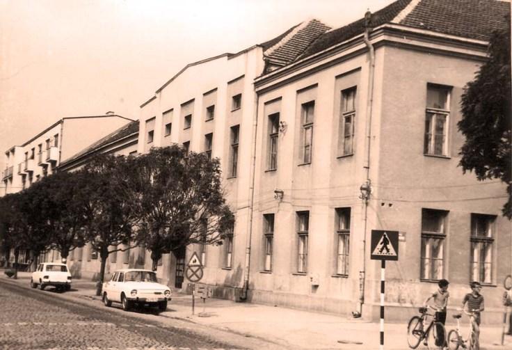 Zgrada pre adaptacije 1976