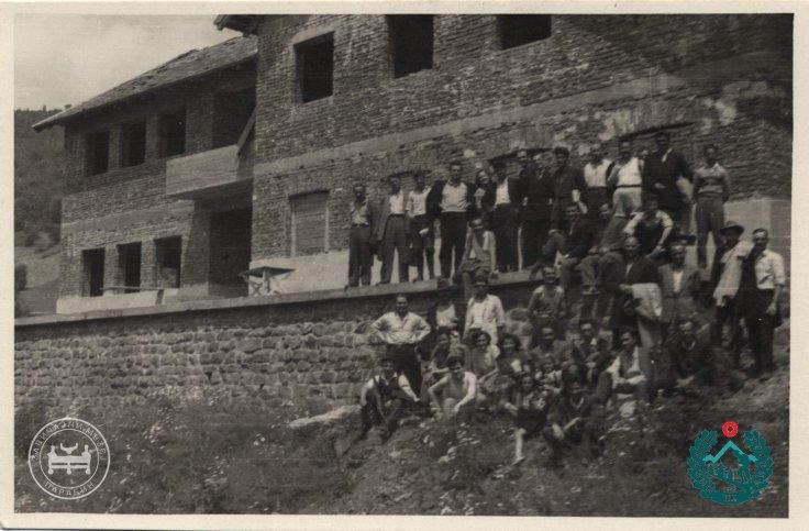 izgradnja doma 1958