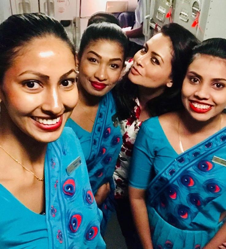 stjuardese Sri Lanka
